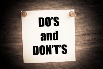 Do and Dont Networking
